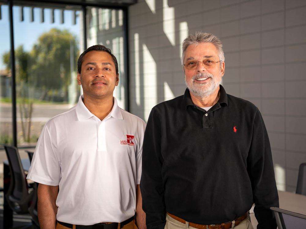 Dr. Raj Chakraborty und Dragan Grubisic
