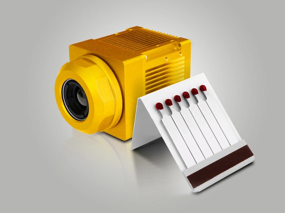 Intelligente Wärmebildkamera für den industriellen Einsatz