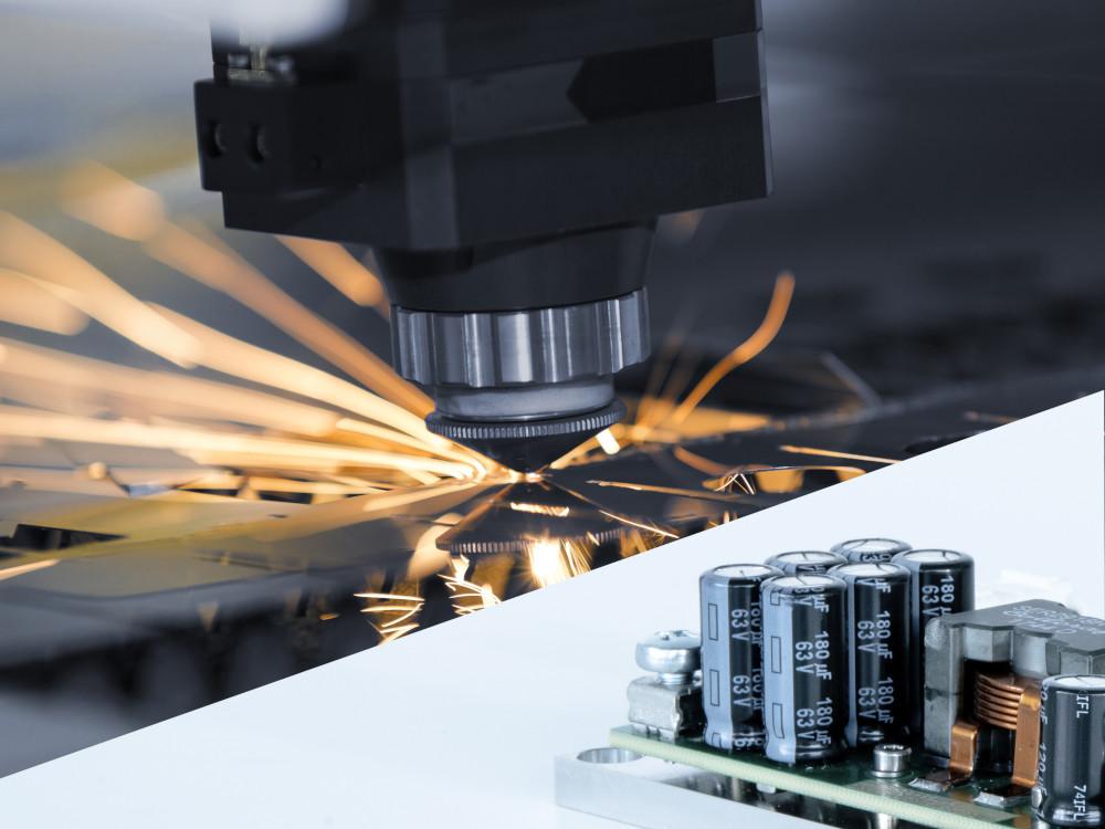Faserlaser in der Materialbearbeitung