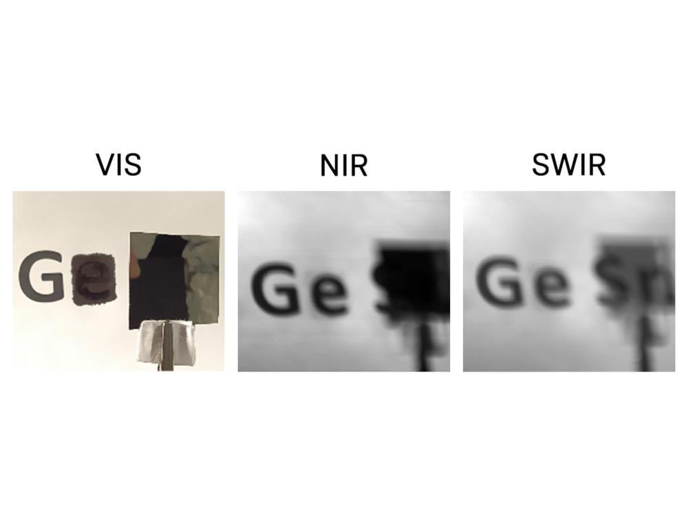 Aufnahmen mit dem Infrarotdetektor. Bild: Forschungszentrum Jülich / Politecnico di Milano